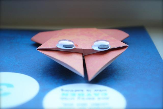 Origami Invitations - Under The Sea Birthday Party @ Crayon Box Chronicles