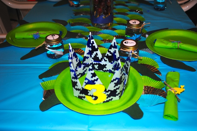 Under The Sea Birthday Party @ Crayon Box Chronicles