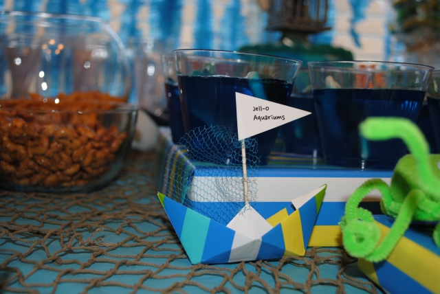 Food Boat Labels - Under The Sea Birthday Party @ Crayon Box Chronicles