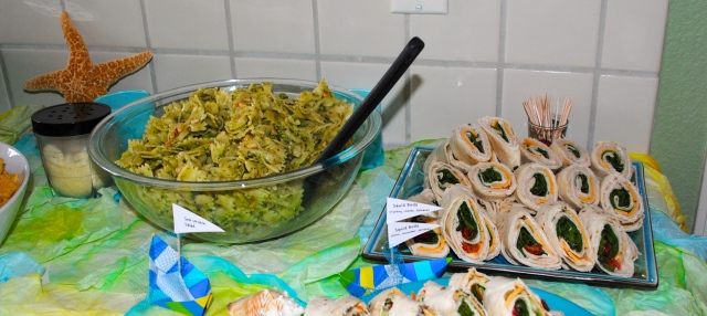 Under The Sea Birthday Party Food @ Crayon Box Chronicles
