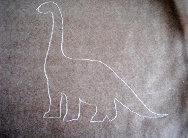 Dinosaur Melted Crayon Art @ Crayon Box Chronicles