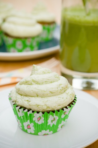 Green Smoothie Cupcakes 01