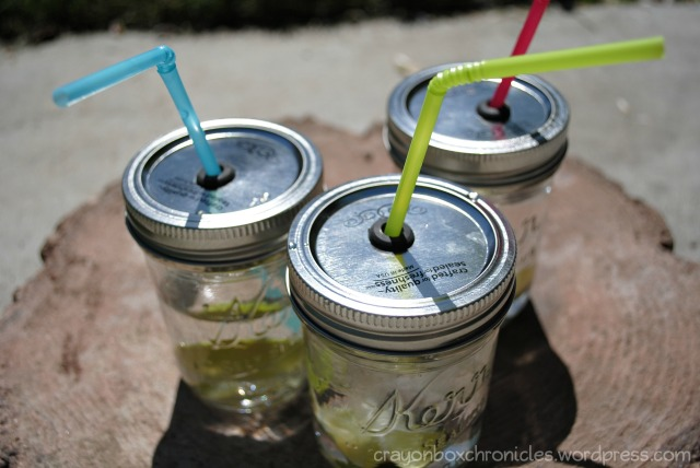 Mason Jar Cup Tutorial by Crayon Box Chronicles