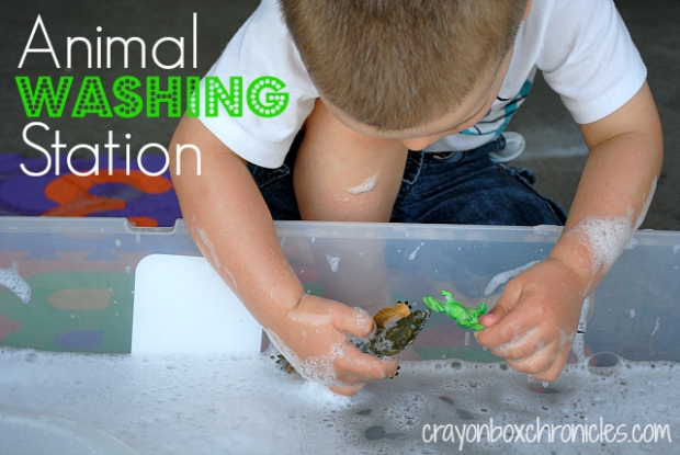 Animal Washing Station by Crayon Box Chronicles
