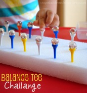 Balance Tee Challenge by Crayon Box Chronicles