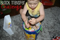 Block Transfer Challenge by Crayon Box Chronicles