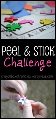 Peel & Stick Challenge by Crayon Box Chronicles