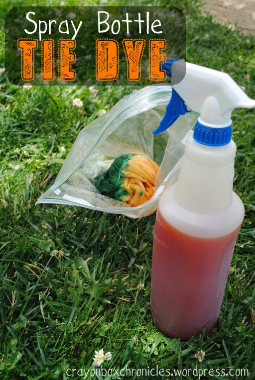 Spray Bottle Tie Dye by Crayon Box Chronicles