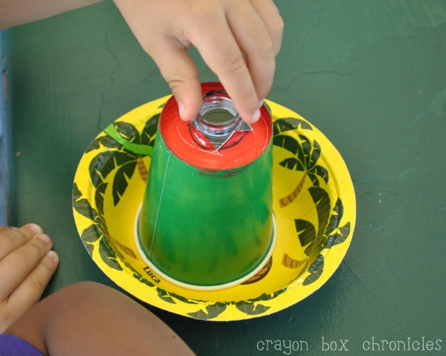 Mini-Volcano Eruption Craft @ Crayon Box Chronicles