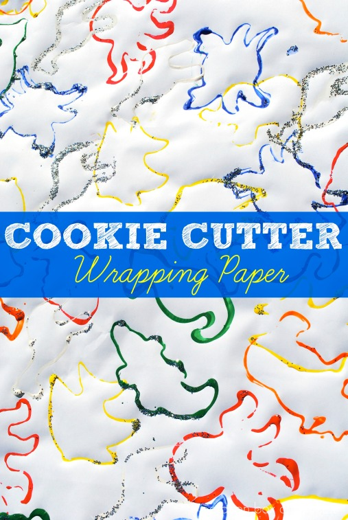 Cookie Cutter Wrapping Paper by Crayon Box Chronicles