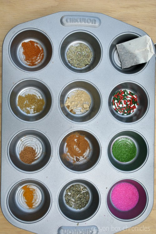 Invitation to play - Spices & Sprinkles Painting by Crayon Box Chronicles
