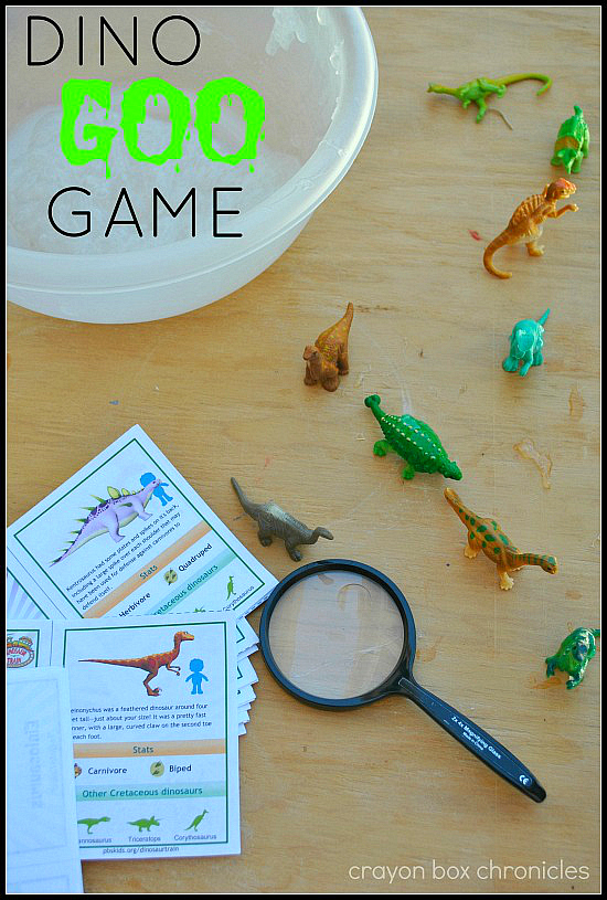 Dinosaur I Spy Goo Game by Crayon Box Chronicles