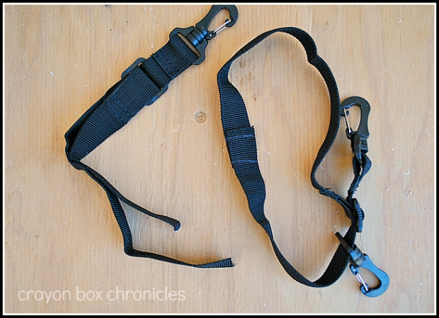 straps for fireman air tank