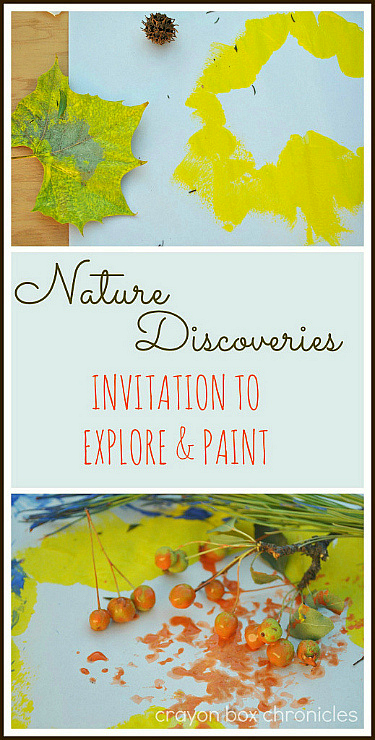 Nature Painting by Crayon Box Chronicles