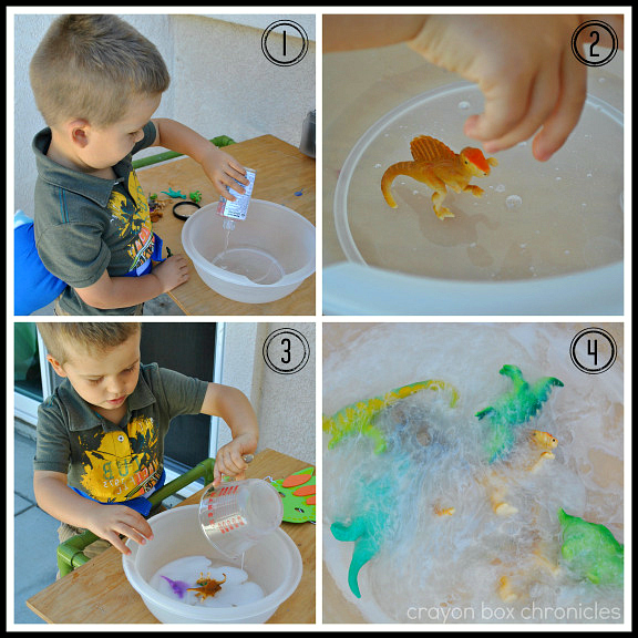 Making Dinosaur Goo by Crayon Box Chronicles