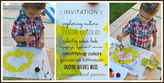 An Invitation to Paint & Explore with Nature @ Crayon Box Chronicles
