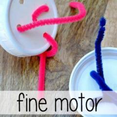 fine motor crafts