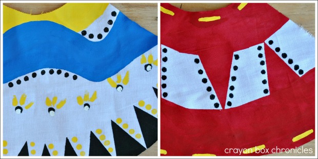 Hand Painted Teepee Tutorial @ Crayon Box Chronicles