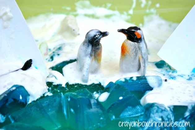 Antarctic Small World by Crayon Box Chronicles