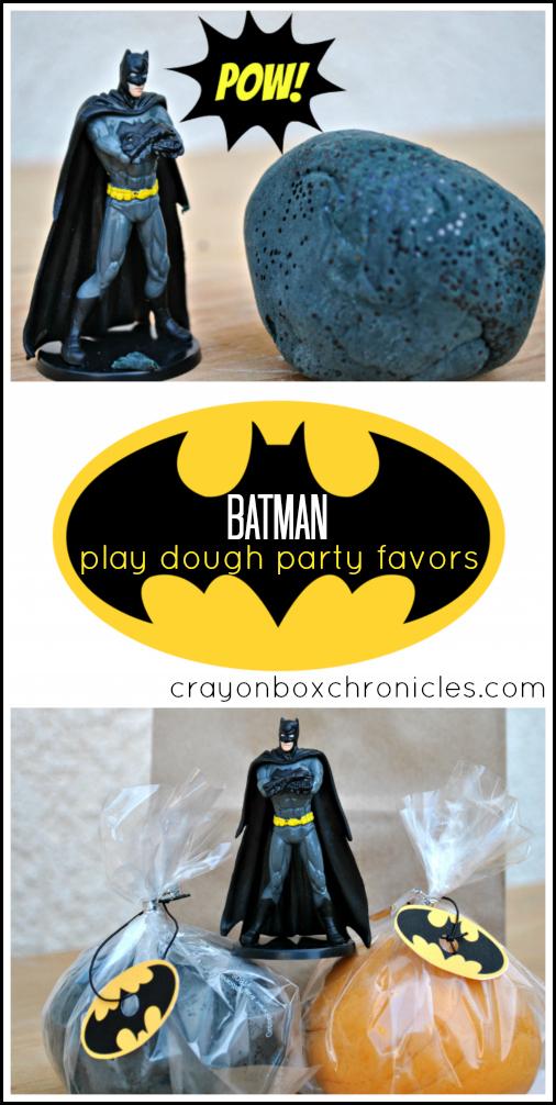 Batman Play Dough by Crayon Box Chronicles
