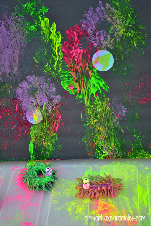 Concept Sensory Painting by Crayon box Chronicles