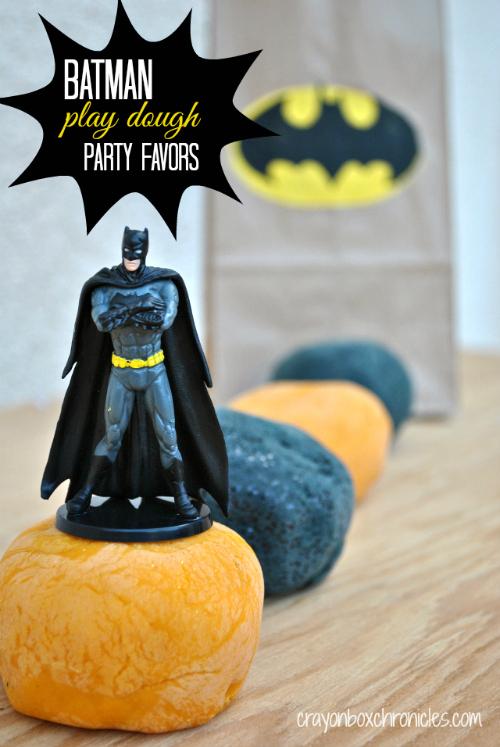 batman birthday party favors