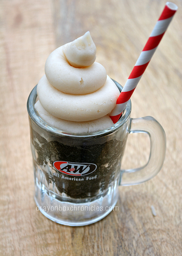 Root Beer Vanilla Float Play Dough Play