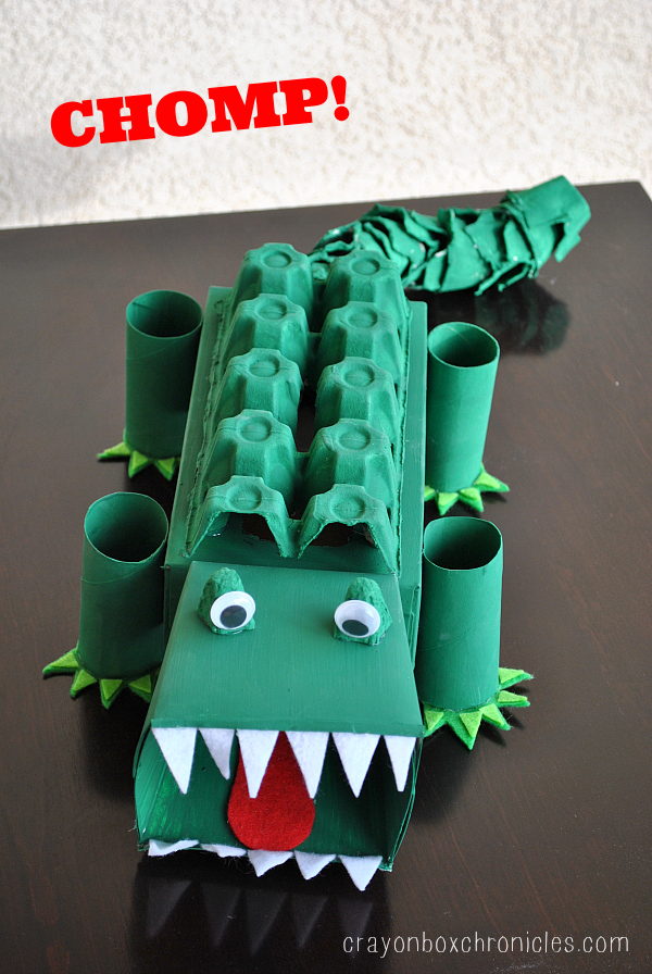 Alligator Affirmation Box to Show Kids Love by Crayon Box Chronicles