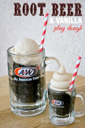 Root Beer Vanilla Play Dough