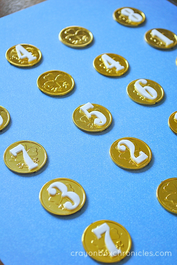 Coin Memory Matching Game for Kids