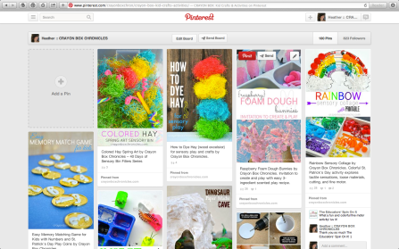 Crayon Box Chronicles Kid Crafts & Activities on Pinterest