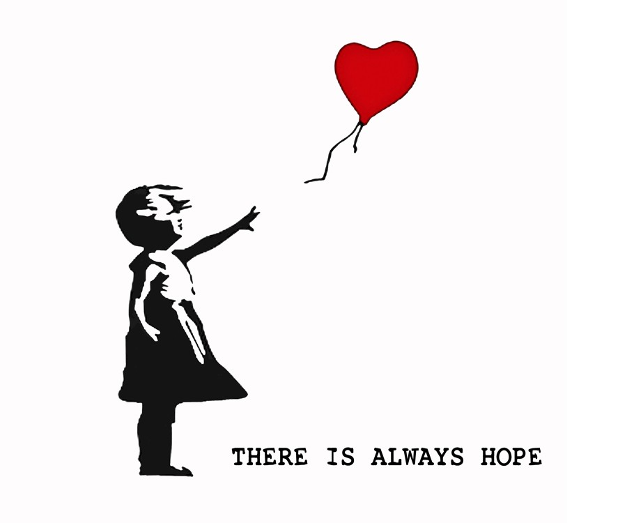 There's Always Hope Banksy