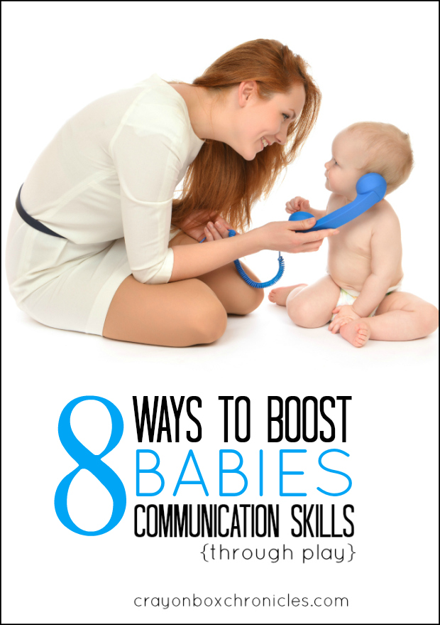 Easy ways to boost babies communication skills through play #babydevelopment