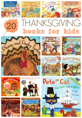 20 Thanksgiving Books for Kids - Crayon Box Chronicles