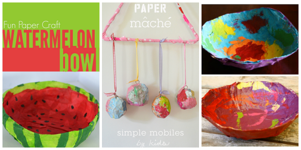 Creative Paper Mache Crafts for Kids