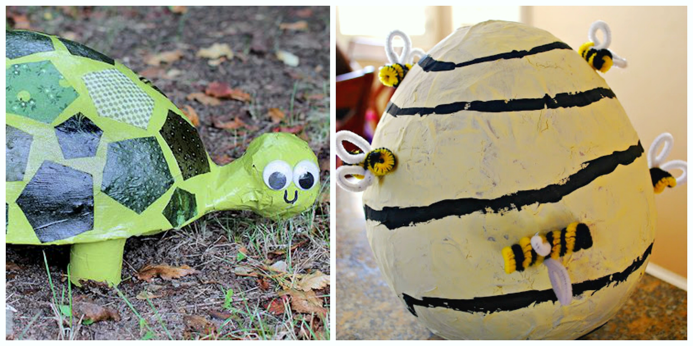 Paper mache crafts for kids crayon box chronicles for Paper mache craft ideas