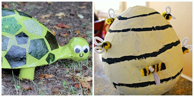 Cute paper Mache Crafts for Kids