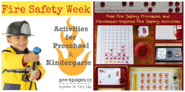 Fire Safety Printable & Activities for Kids