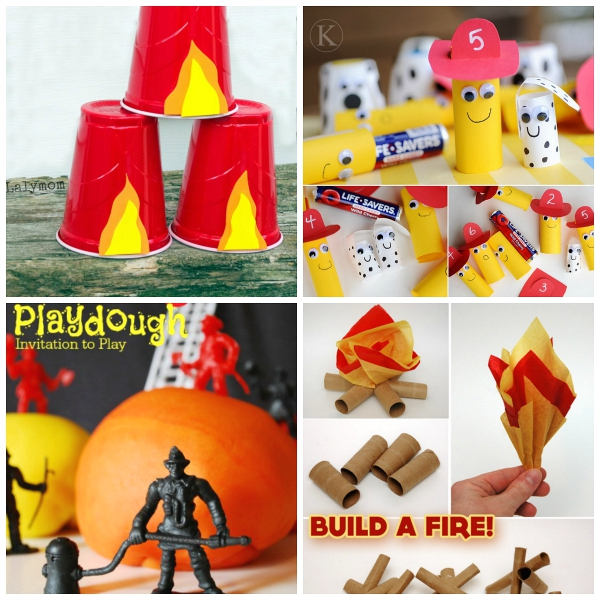 fire safety crafts prevention week activities for crayon box 2020
