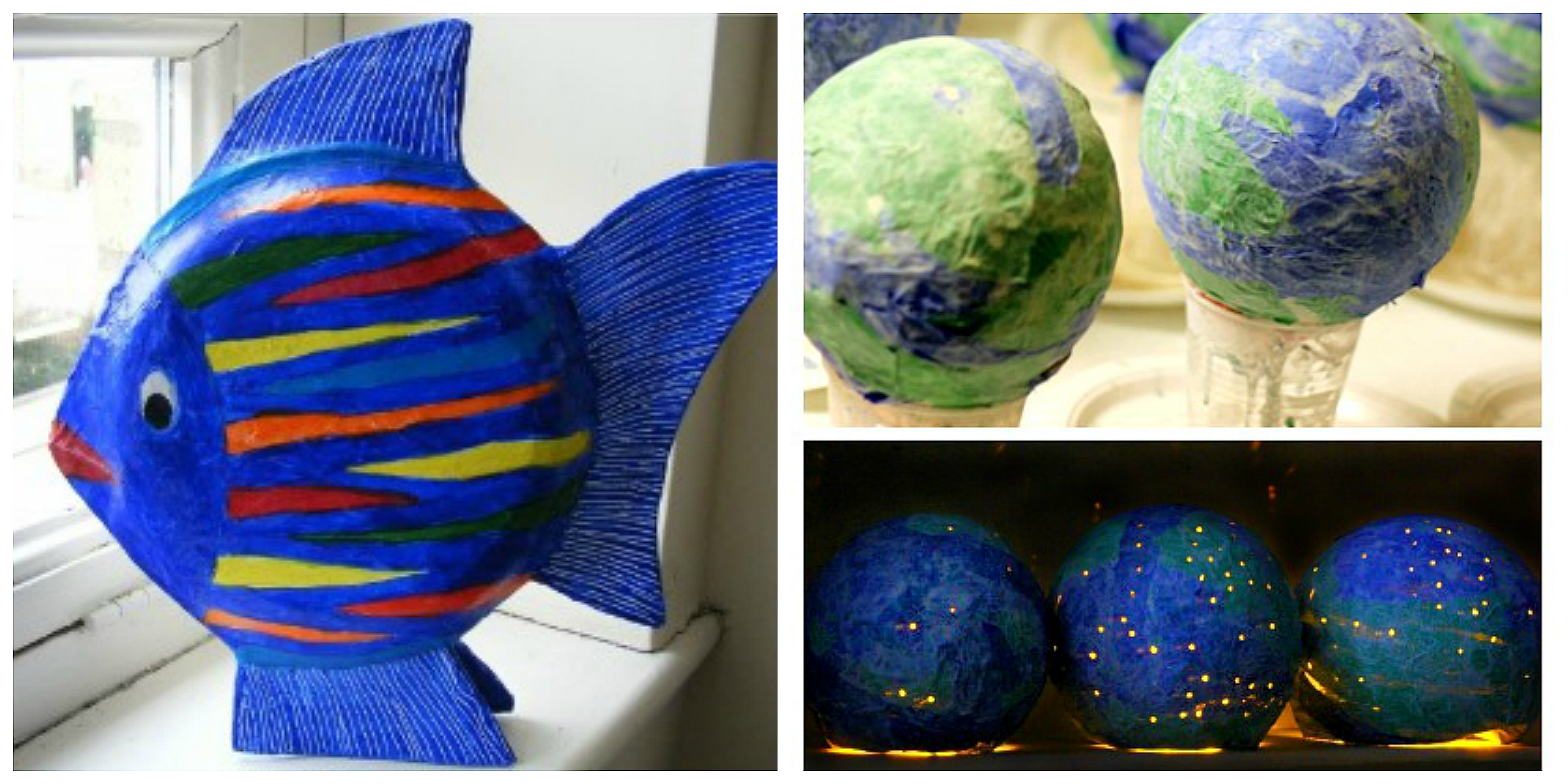 Paper Mache Crafts For Toddlers
