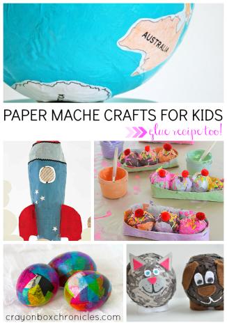 Paper Mache Crafts for Kids