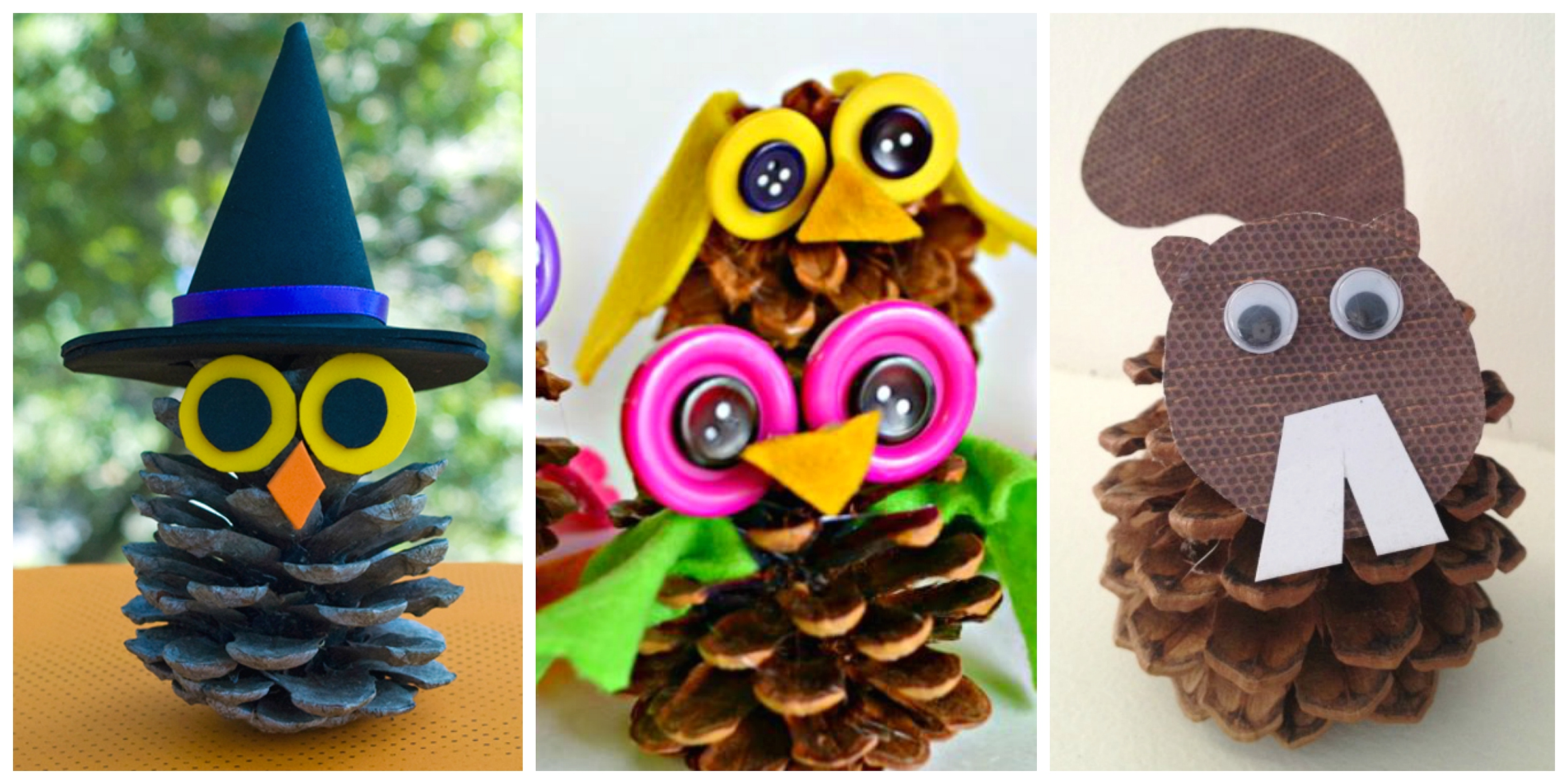 Pine cone crafts for kids crayon box chronicles for Pine cone crafts for children