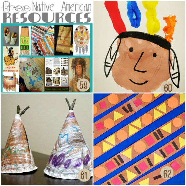 Easy Native American Kids Crafts and Resources