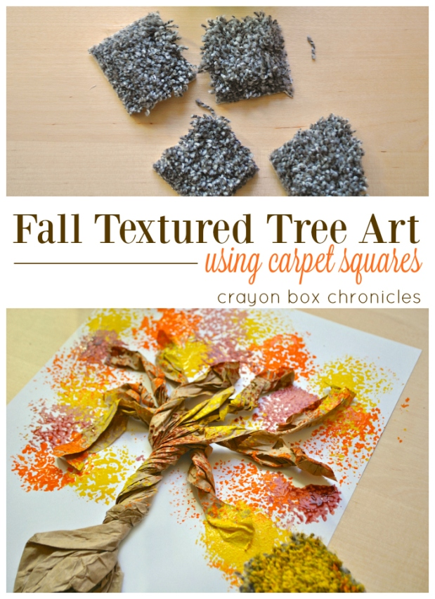 Easy Autumn Tree Art for Kids