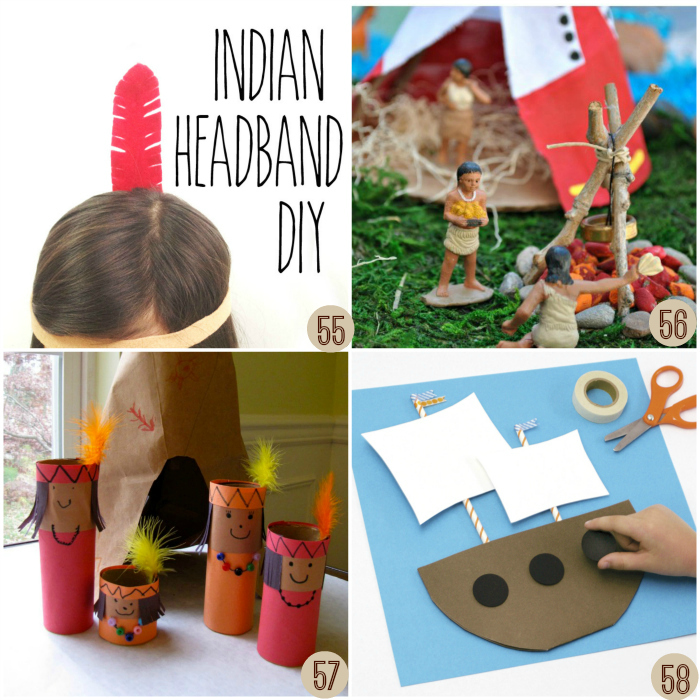 Thanksgiving crafts for kids crayon box chronicles for American indian crafts for kids