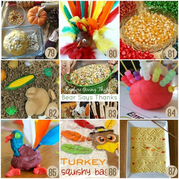 Easy Thanksgiving Sensory Play Ideas