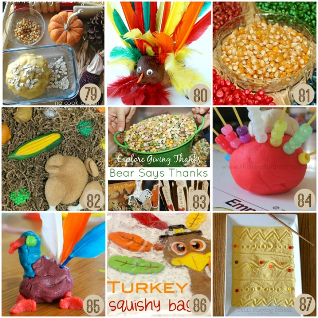 Easy Thanksgiving Sensory Play Ideas