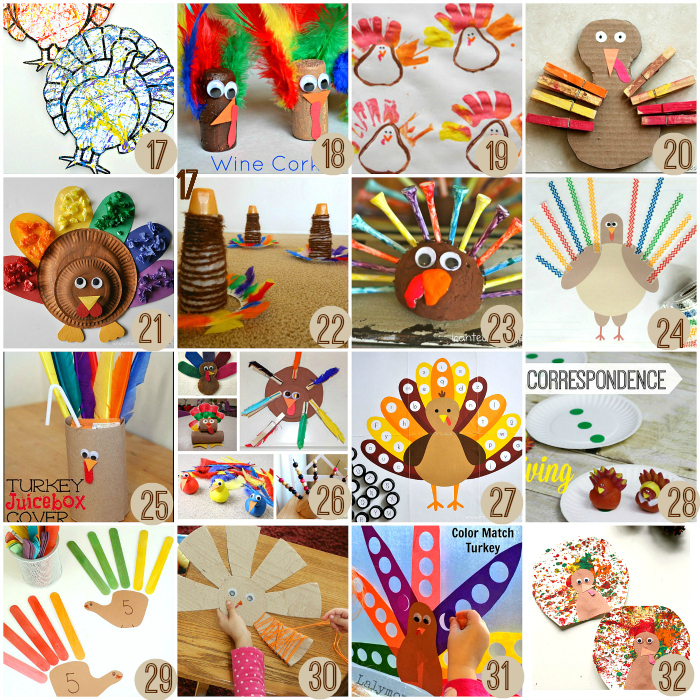 21 Fun and Creative Thanksgiving Crafts