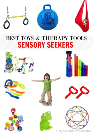 Holiday Gift Guide - Best Toys and Therapy Tools for Sensory Seekers