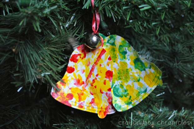 Simple Christmas Jingle Bell Art Activity for Kids
